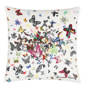 Butterfly Parade Cushion by Christian Lacroix