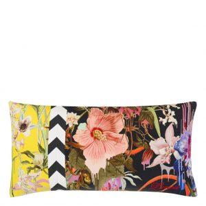 Orchids Fantasia Prisme Cushion by Christian Lacroix